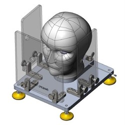 Установка для испытания боковой защиты средств индивидуальной защиты глаз. ГОСТ 12.4.309.2-2016 п.6.14 - фото 6638
