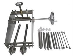 Устройство для испытания материалов изоляции и оболочек электрических и оптических кабелей на изгиб при низкой температуре МТ 467. ГОСТ IEC 60811-1-4-2011 п.8.1, п.8.2 - фото 6649