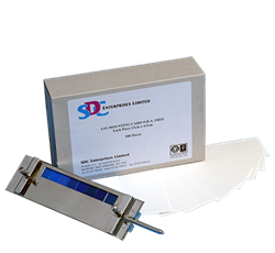 Монтажная плата для крепления образца, 13х4.5 см / LFS Mounting card FBA Free 13 x 4.5 cm - фото 6681