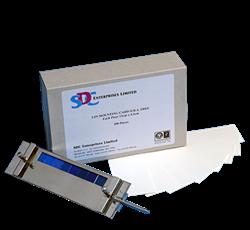 Монтажная плата для крепления образца, 14х7 см / LFS Mounting card FBA Free 14x7 cm - фото 6682