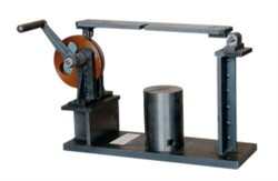 Установка для испытания узла крепления шнура натяжением МТ 335 - фото 6949