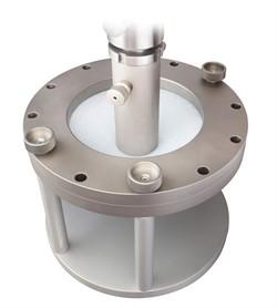 Приспособление к испытательной машине для испытания прочности геосинтетического материала при продавливании MT-Z29 ГОСТ Р 56335-2015 - фото 6969