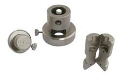 Зажим с упором для цилиндрических образцов с заплечиками МТ-Z565 - фото 6985