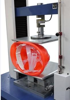 Приспособление к разрывной машине для определения боковой деформации защитных касок МТ 359А. ГОСТ EN 397-2012 - фото 7198