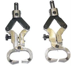 Приспособление для испытания прочности подошв гвоздевого, винтового, деревянно-шпилечного, прошивного креплений (ПО-1КП) МТ 801. ГОСТ 9134-78 - фото 7237