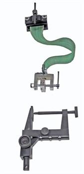 Приспособление к разрывной машине для определения прочности крепления подошв в обуви химических методов крепления МТ 808. ГОСТ 9292-82 - фото 7245