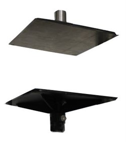 Плиты для измерения предела прочности на отрыв слоев минераловатных и стекловатных плит MT-Z19. ГОСТ Р ЕН 1607-2008 - фото 7263