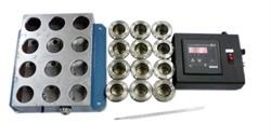 Устройство для определения паропроницаемости искусственных кож и пленочных материалов в неизотермических условиях МТ 168. ГОСТ 22900-78 - фото 7568