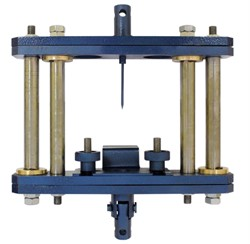Приспособление к разрывной машине для определения стойкости к проколу МТ 279. ГОСТ 12.4.183-91; ГОСТ 12.4.198-99; ГОСТ 12.4.118-82; ГОСТ 12.4.241-2013 - фото 7582