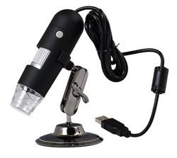 Микроскоп для просмотра рисунка переплетения тканей. С USB подключением. - фото 7623