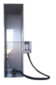 Установка для испытания одиночного провода (кабеля) в условиях воздействия пламени МТ 034. ГОСТ Р МЭК 60332-1-1-2007 - фото 7677
