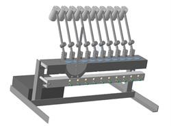 Устройство для определения несминаемости ткани МТ 361. ГОСТ 19204-73 - фото 7738