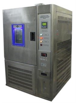 Климатическая камера с поддержанием постоянной температуры и влажности с приспособлением для испытания на многократный изгиб подошв и кож МТ-009А. ГОСТ 27420-87 - фото 7764