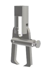Приспособление к разрывной машине для испытания на разделение изолированных жил МТ 329. ГОСТ IEC 60227-2-2012 - фото 7776