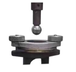 Приспособление к разрывной машине МТ 120 для определения прочности на продавливание с применением стального шарика  МТ-Z34 - фото 7804