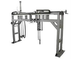 Испытательный стенд для испытания мебели для сидения, лежания на долговечность под действием вертикальной, ударной нагрузок МТ 649. ГОСТ 17340-87 - фото 7847