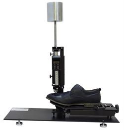 Прибор для определения общей и остаточной деформации подноска и задника обуви (типа ЖНЗО-2) МТ 378. ГОСТ 9135-2004 - фото 7948