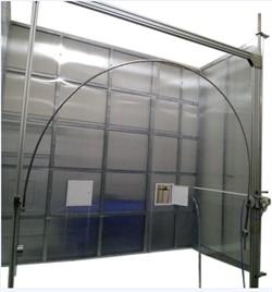Стенд для испытания защиты от воды с помощью качающейся трубы или разбрызгивателя IPX3,IPX4 МТ 440 - фото 8043