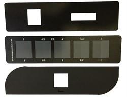 Серая шкала для оценки изменения окраски ШСР-1. ГОСТ Р ИСО 105-A02-99 - фото 8290