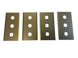 Комплект лезвий к штампу для резки образцов МТ 595Л - фото 8977
