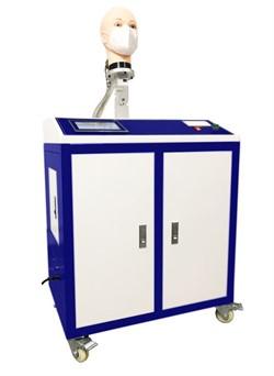 Установка для определения начального сопротивления воздушному потоку на выдохе и вдохе при испытаниях полумасок фильтрующих для защиты от аэрозолей МТ 470. ГОСТ 12.4.294-2015 п.8.7, EN 149:2001+А1:2009 - фото 9067
