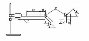 Устройство для определения стойкости к горению пластмасс МТ 274. ГОСТ 28157-89