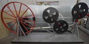 Устройство для проверки стойкости к многократному перегибу проводов и шнуров сечением жил свыше 4 мм2 через систему роликов МТ 220. ГОСТ 12182.1-80