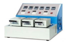 Устройство для испытания устойчивости окраски к глажению и сублимации МТ 012. ГОСТ 9733.7-83, ГОСТ 9733.8-83