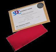 Ткань для контроля влажности при испытании 25x15см / Humidity Control Fabric 1 pattern 25x15cm (humidity-test control fabric)