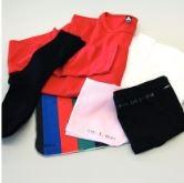 Набор для пиллинга, содержащий 2 части ткани одежды и 4 оригинальный, предварительно не пиллингованный / Pilling set containing 2 fabric pieces and 4 garments, original, not pre-pilled