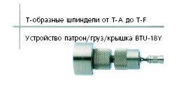 Т-образные шпиндели