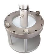 Приспособление к испытательной машине для испытания прочности геосинтетического материала при продавливании MT-Z29
