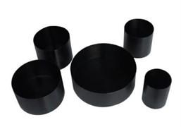 Сосуды из низкоуглеродистой стали для испытания индукционных плиток МТ 483
