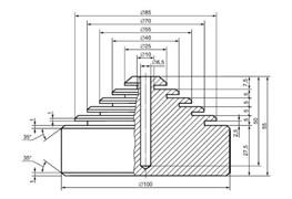 Устройство для оценки устойчивости поверхности деталей мебели к воздействию влажного тепла МТ 630