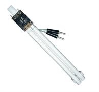 Комплект эквивалента одноцокольной двухтрубчатой люминесцентной лампы диаметром трубок 12 мм ЭЛД