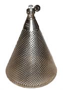 Корпус металлический конический для испытаний люминесцентных ламп со встроенным балластным сопротивлением КМК