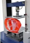 Приспособление к разрывной машине для определения боковой деформации защитных касок МТ 359А. ГОСТ EN 397-2012