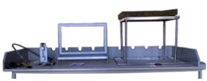 Установка для определения воспламеняемости мягких элементов мебели МТ 269М. ГОСТ Р 53294-2009