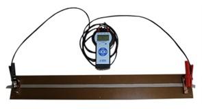 Устройство для измерения электрического поверхностного сопротивления электропроводящей ткани и электрического сопротивления электропроводящей ленты МТ 427