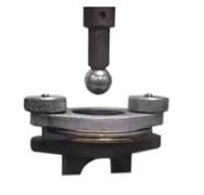 Приспособление к разрывной машине МТ 120 для определения прочности на продавливание с применением стального шарика  МТ-Z34