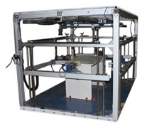 Испытательный стенд для испытания столов на долговечность под действием горизонтальной, вертикальной, ударной нагрузок МТ 632. ГОСТ 23380-83, ГОСТ 30099-93, ГОСТ 30212-94