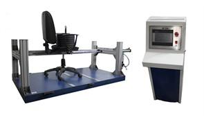 Испытательный стенд для испытания на долговечность опор качения и поворотных опор стульев на металлическом каркасе МТ 634. ГОСТ 12029-93