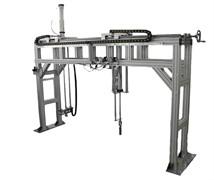 Испытательный стенд для испытания мебели для сидения, лежания на долговечность под действием вертикальной, ударной нагрузок МТ 649. ГОСТ 17340-87