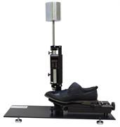 Прибор для определения общей и остаточной деформации подноска и задника обуви (типа ЖНЗО-2) МТ 378. ГОСТ 9135-2004
