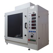 Установка для проведения испытаний раскаленной проволокой МТ 268. ГОСТ Р МЭК 60695-2-10