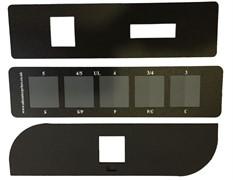 Серая шкала для оценки изменения окраски ШСР-1. ГОСТ Р ИСО 105-A02-99