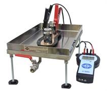 Устройство для определения электрического сопротивления постоянному току электропроводящей обуви и токопроводящей подошвы МТ 429
