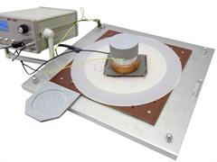 Устройство для определения коэффициента экранирования электропроводящей ткани МТ 425. ГОСТ 12.4.172-2014