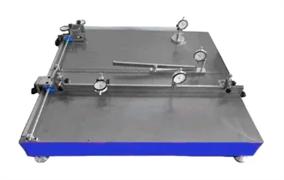 Стенд для измерения отклонения от прямолинейности граней, косоугольности и кривизны поверхности плитки керамической МТ 975