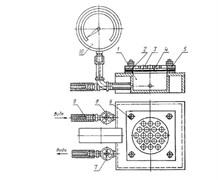 Устройство для определения водонепроницаемости мастики кровельной и гидроизоляционной МТ 979